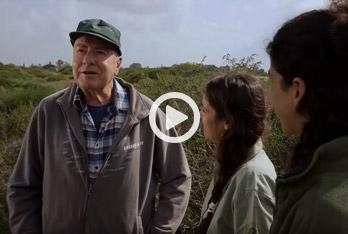 עוזי פז בסרט תיעודי לרשות הטבע והגנים